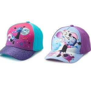 NEW Disney's Vampirina Girl Baseball Cap Tod 2-4T